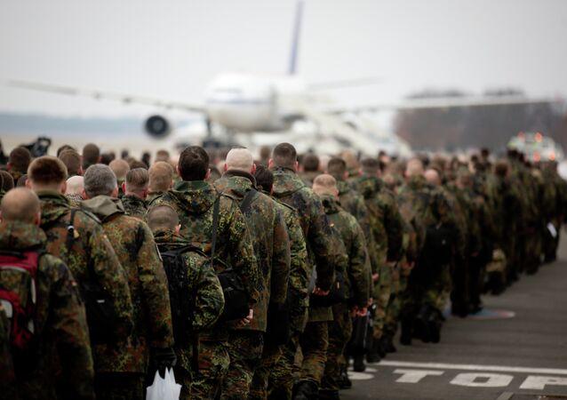 240 soldados da Bundeswehr alemão partem para a Turquia com a missão patriota