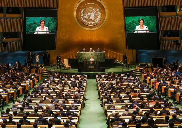 Presidenta Dilma Rousseff na ONU