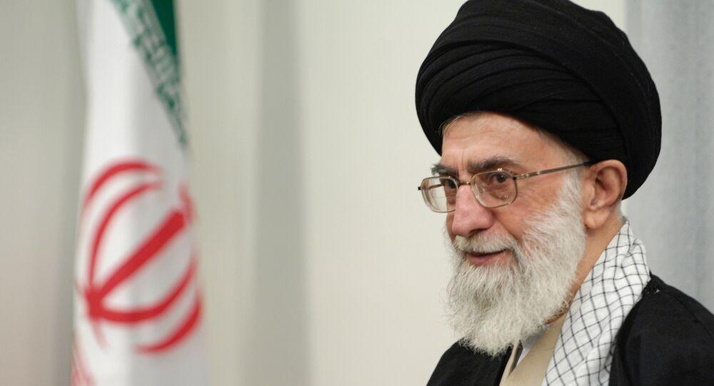 Aiatolá Ali Khamenei.