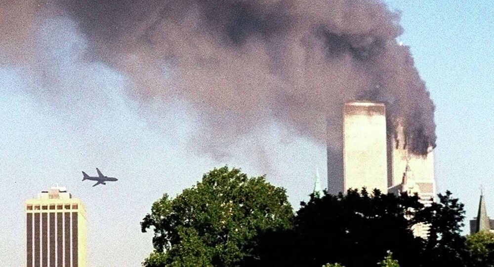 Ataque ao World Trade Center, em 11 de setembro de 2001