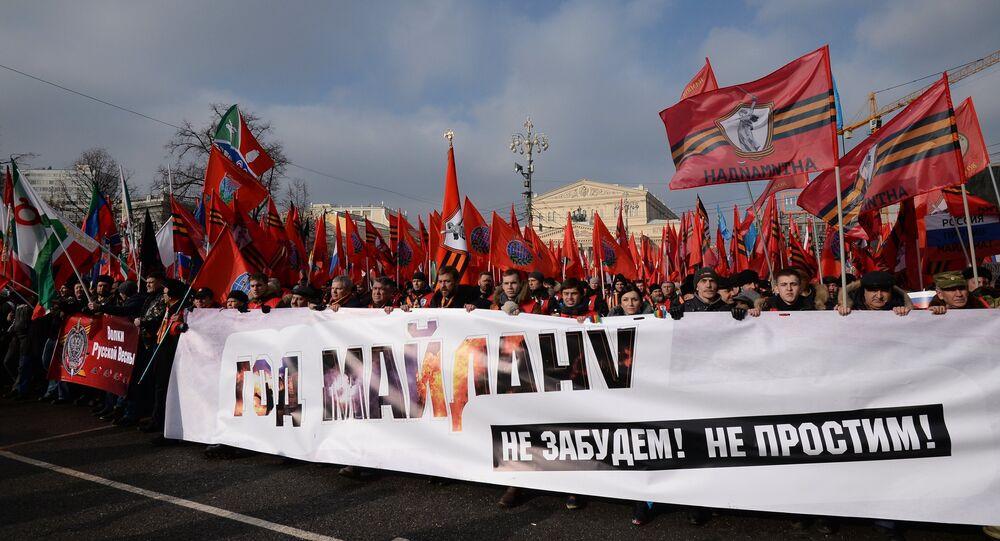 Manifestação do movimento Antimaidan