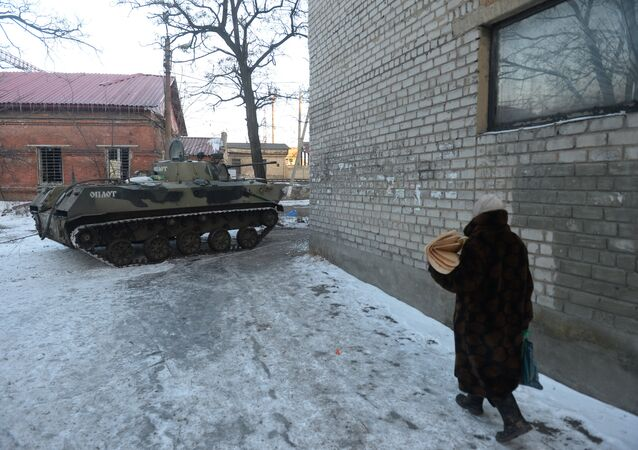 Situação em Debaltsevo