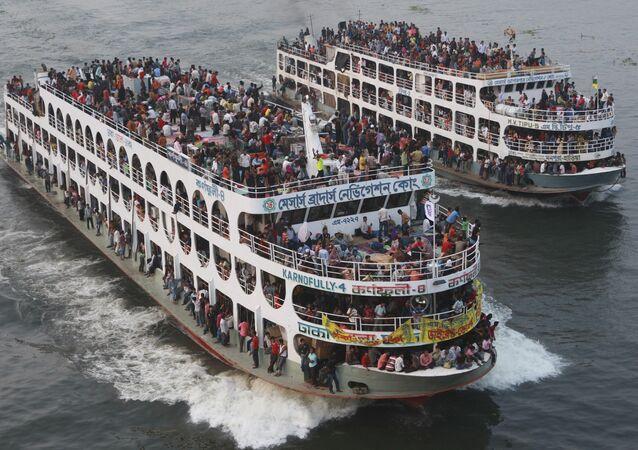 Balsa em Bangladesh