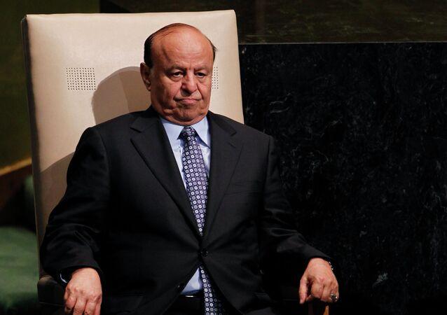 Presidente do Iêmen, Abd Rabbuh Mansour Hadi