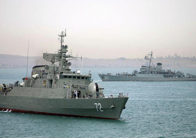 Navios de guerra da Marinha do Irã