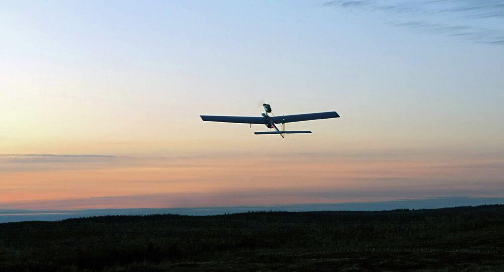 Veículo aéreo não tripulado russo
