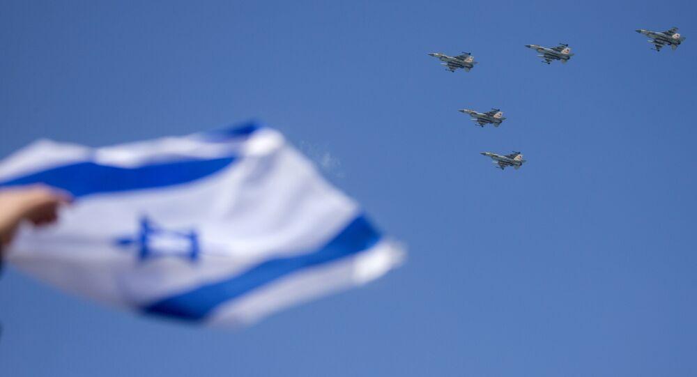 Caça israelense F-16