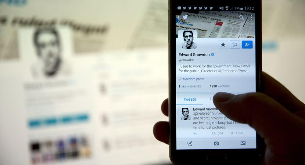 Conta do Twitter de Edward Snowden