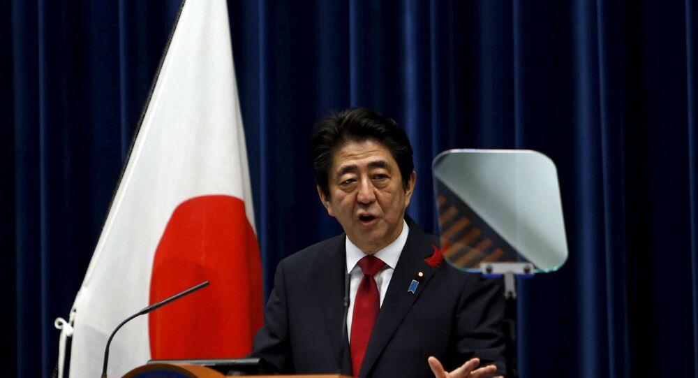 Shinzo Abe defendeu a participação da China no TPP.