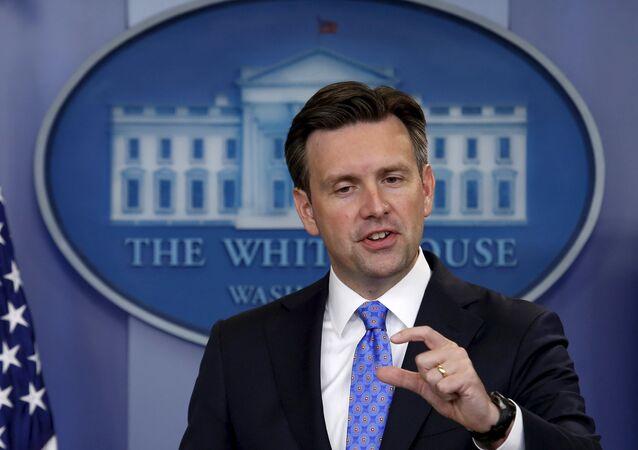 Josh Earnest, secretário de imprensa da Casa Branca