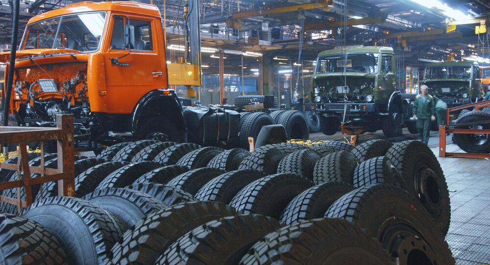 Fábrica de caminhões Kamaz