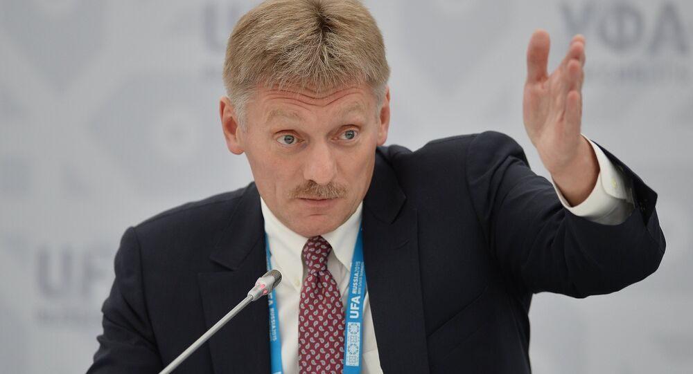 Dmitry Peskov, porta-voz do Kremlin (arquivo)