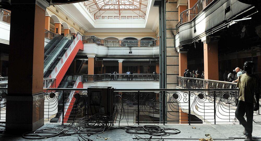Atentado no centro comercial Westgate