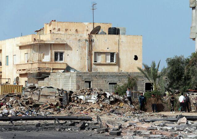Explosão na Líbia
