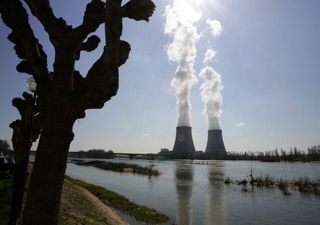 Usina nuclear de Belleville-sur-Loire, na França