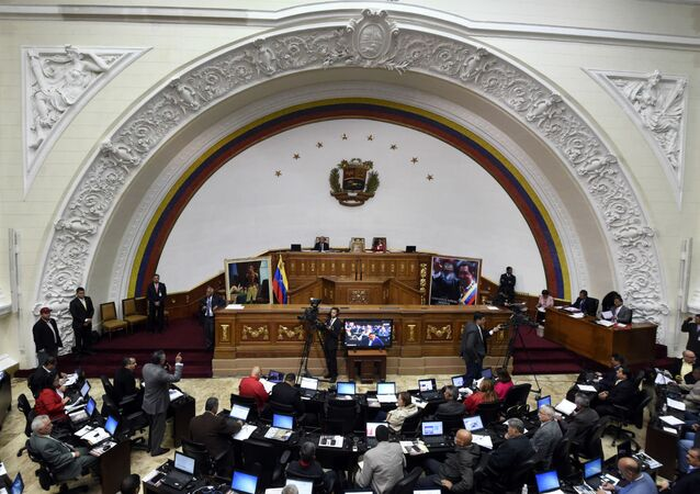 Assembleia Nacional da Venezuela.