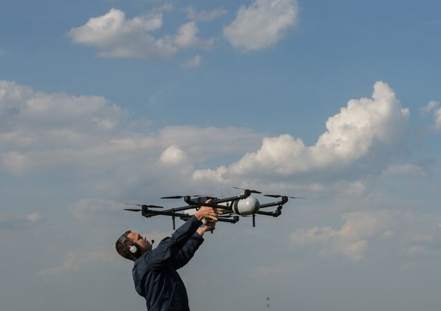 UAV demonstration flights in Moscow region