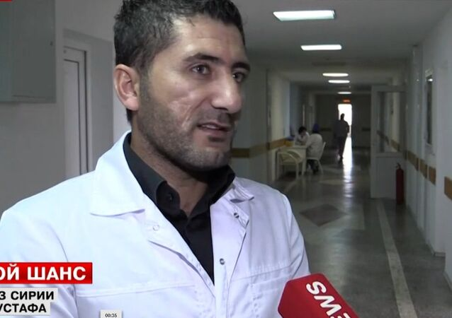 Médico sírio Nikhad Mustafa