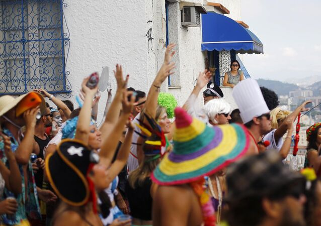 Carnaval de rua no Rio de Janeiro (arquivo)
