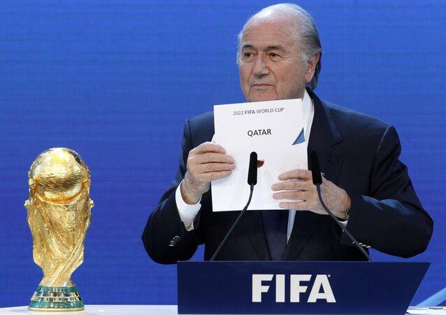 Joseph S. Blatter, presidente da FIFA
