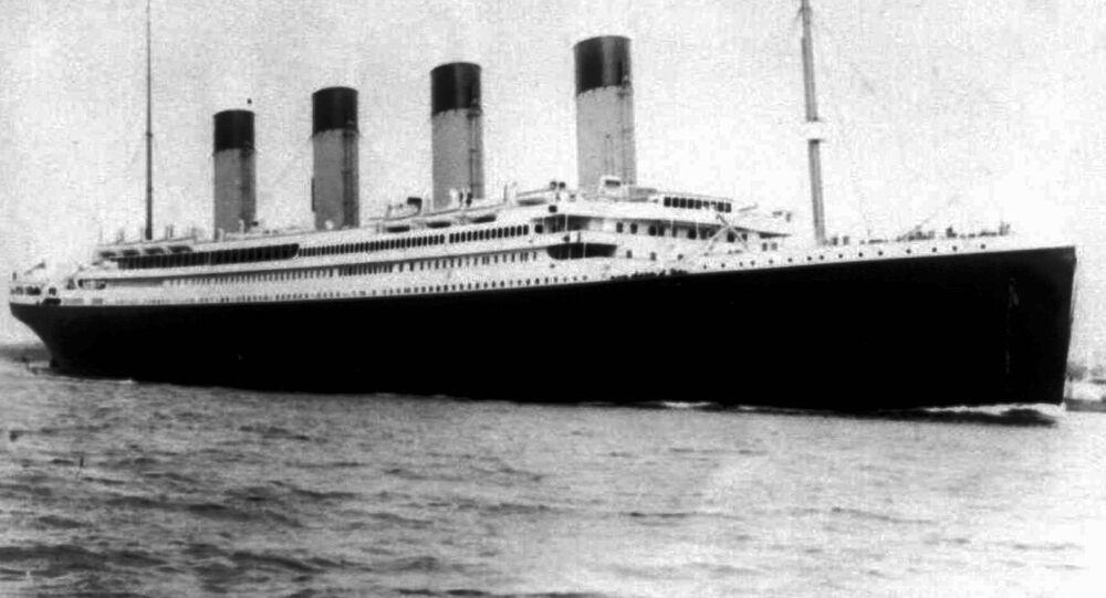 O navio notório Titanic