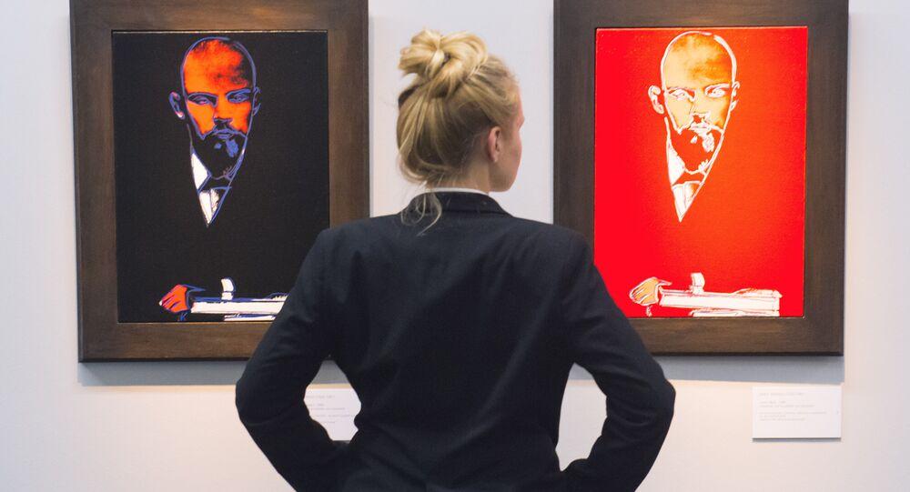 Retratos de Vladimir Lênin segundo Andy Warhol