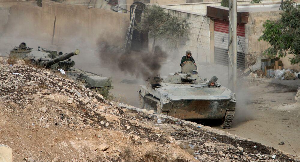 Tropas sírias (foto de arquivo)