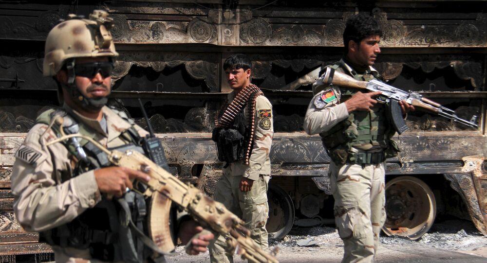 Forças de segurança afegãs mantêm vigilância no Afeganistão
