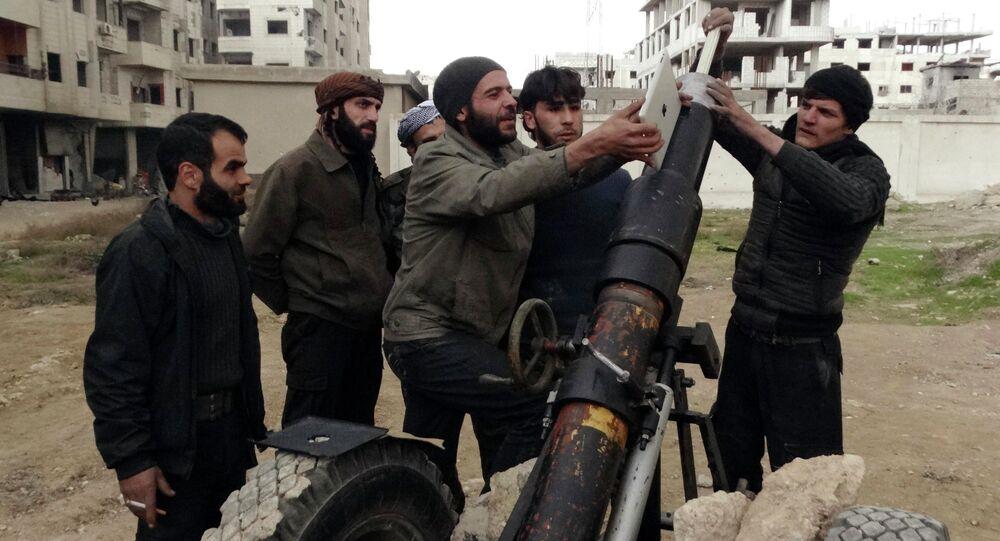 Membros do Exército Livre da Síria