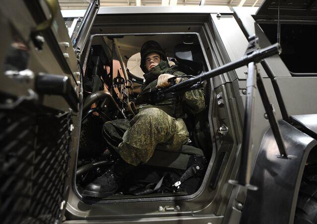 Militar russo