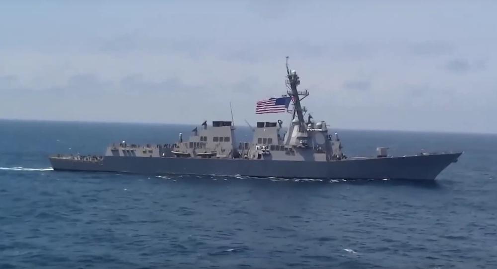 USS Destroyer Lassen
