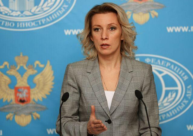 Entrevista coletiva da representante oficial da chancelaria russa Maria Zakharova, 29 de outubro de 2015
