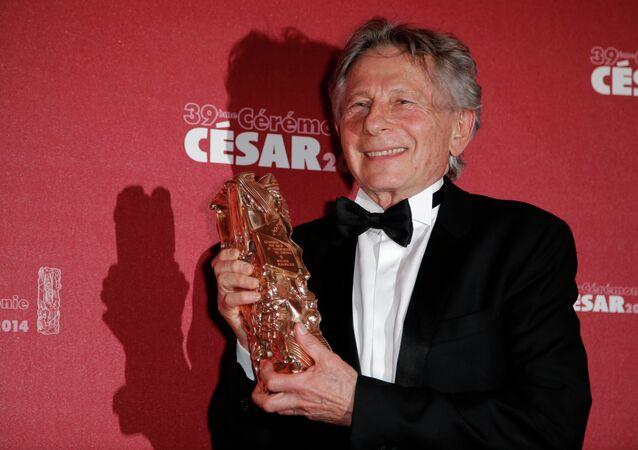 Roman Polanski durante a 39ª cerimônia de entrega do prêmio César de melhor diretor, em 2014