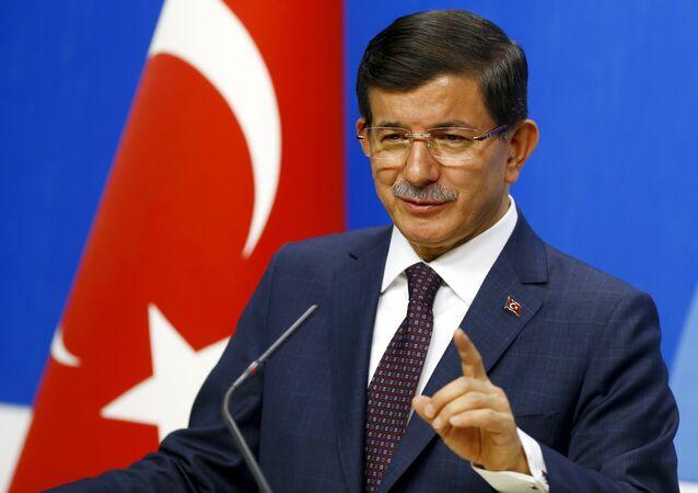 Primeiro-ministro da Turquia, Ahmet Davutoglu