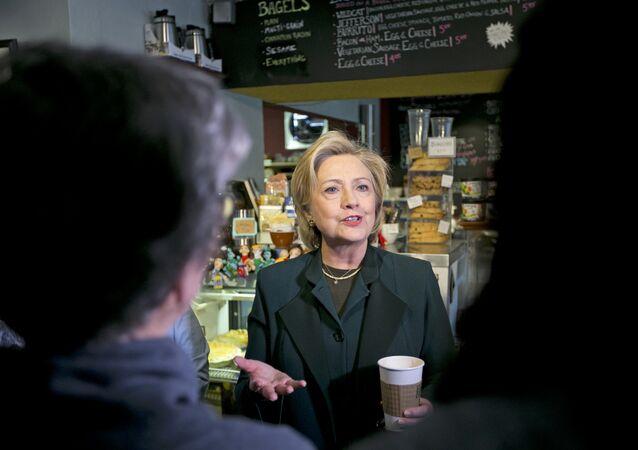 Ex-secretária dos EUA, Hillary Clinton