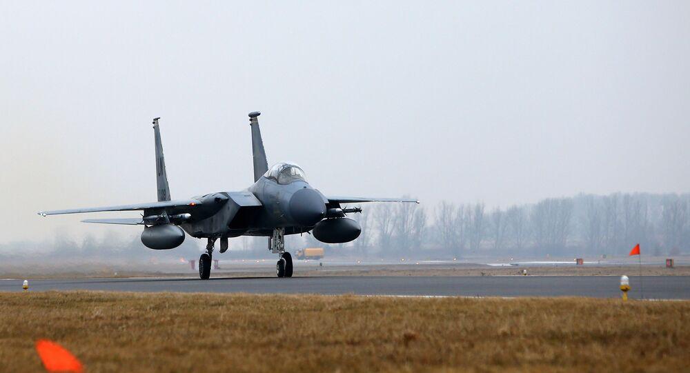 Caça norte-americano F-15C