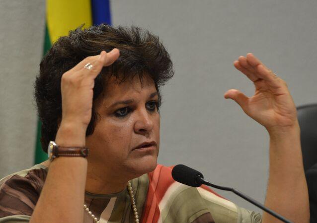Ministra do Meio Ambiente, Izabella Teixeira