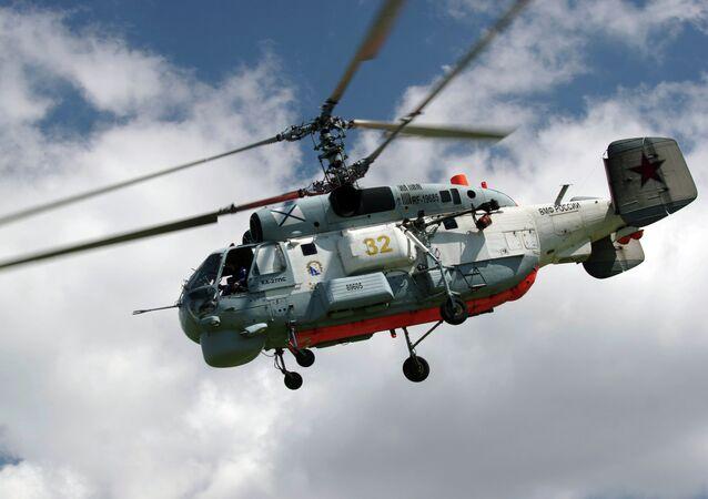 Helicóptero russo Ka-27