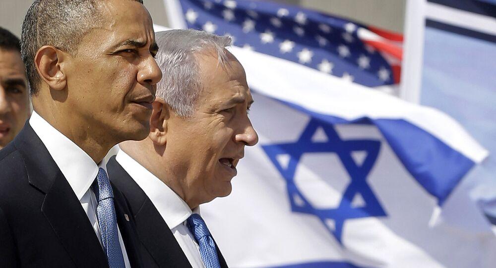 Barack Obama e Benjamin Netanyahu.