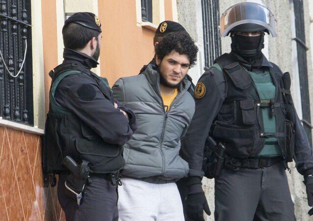 Um dos suspeitos detidos nesta semana pela polícia espanhola