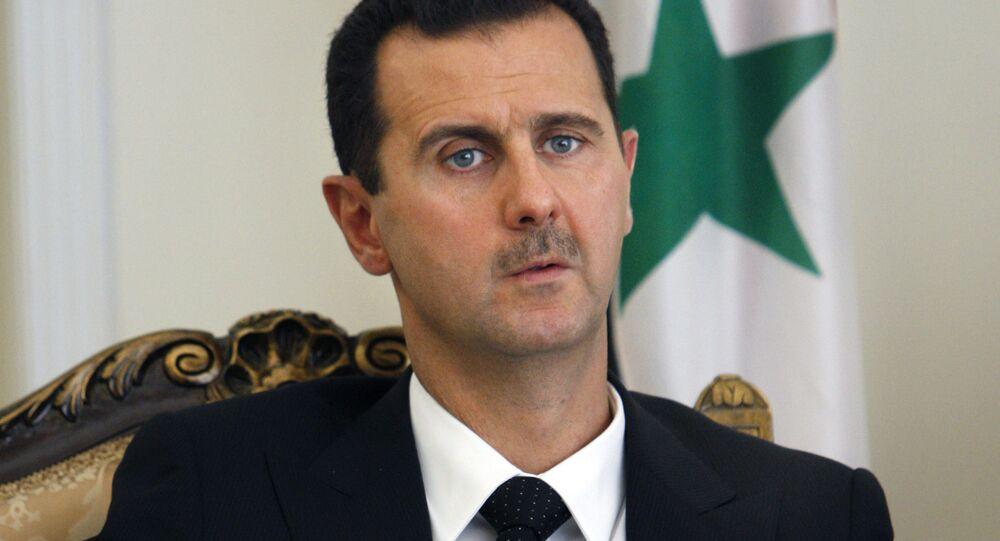 Presidente sírio Bashar Assad
