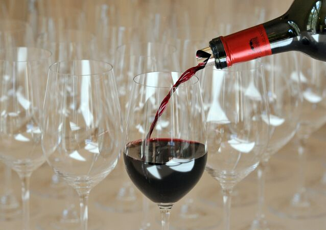Vinho tinto francês de Bordeaux
