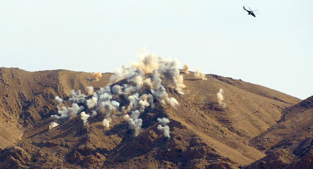 Helicópteros russos atacam terroristas na Síria