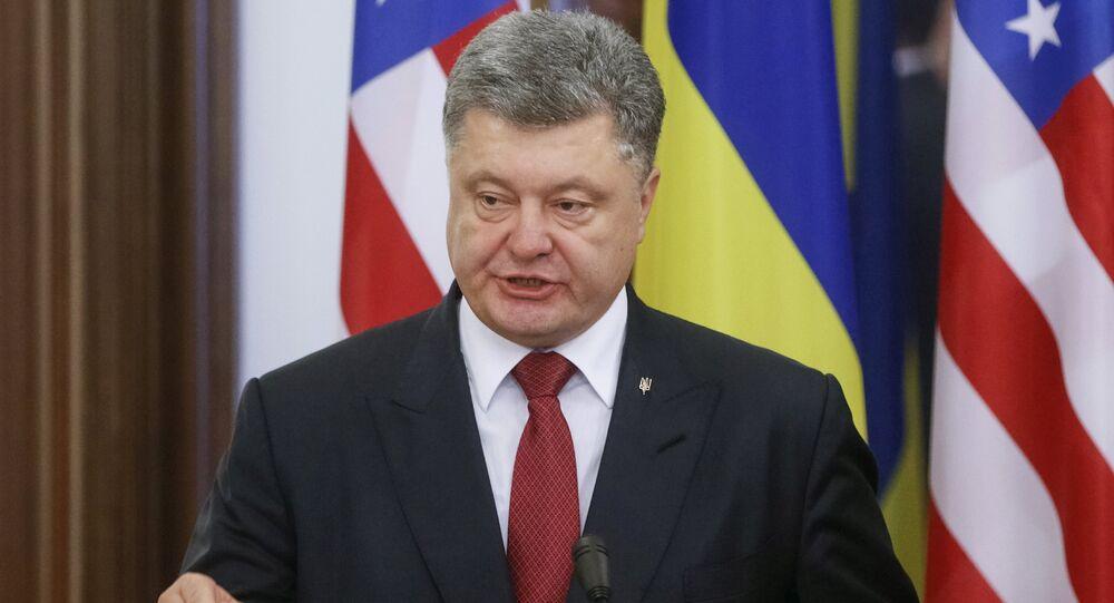 Presidente da Ucrânia, Pyotr Poroshenko