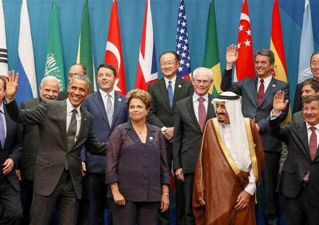 Presidenta Dilma Rousseff vai se encontrar com líderes mundiais na Cúpula do G20, na Turquia