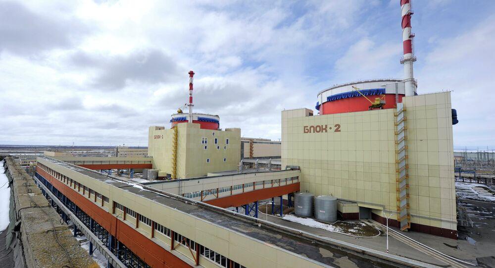 Usina nuclear na região de Rostov, na Rússia