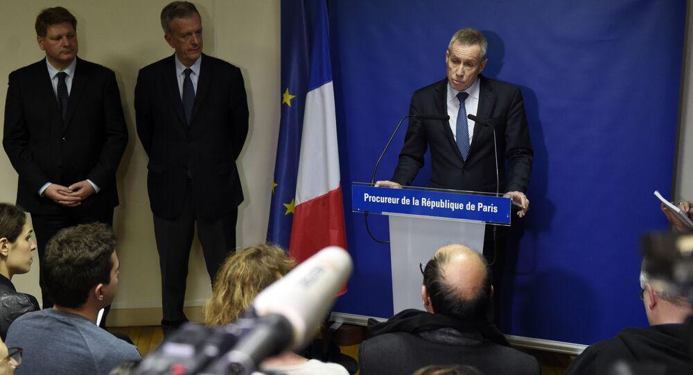 Procurador de Paris François Molins