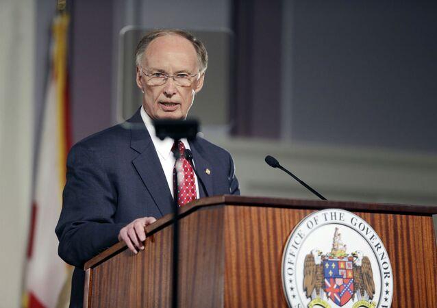 Robert Bentley, governador do Alabama.