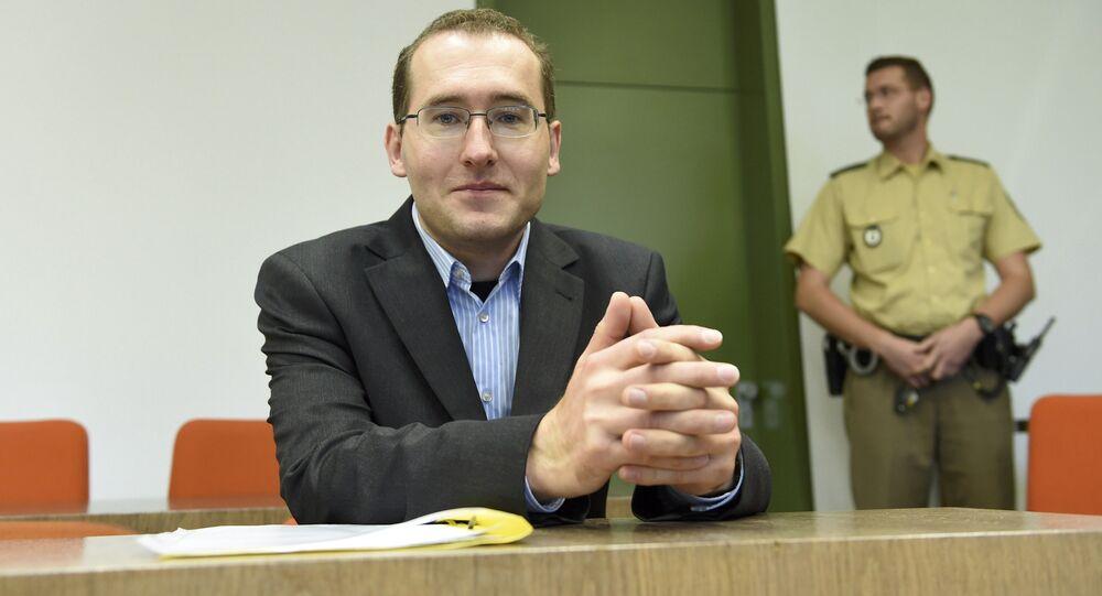 Markus Reichel, ex-agente do Serviço Federal de Inteligência da Alemanha (BND), 16 de novembro de 2015