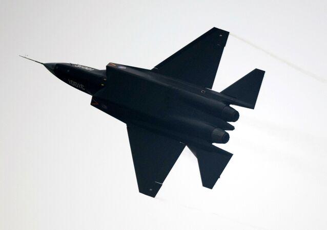 Caça chinês J-31 no Airshow China 2014